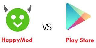 HappyMod e Play Store